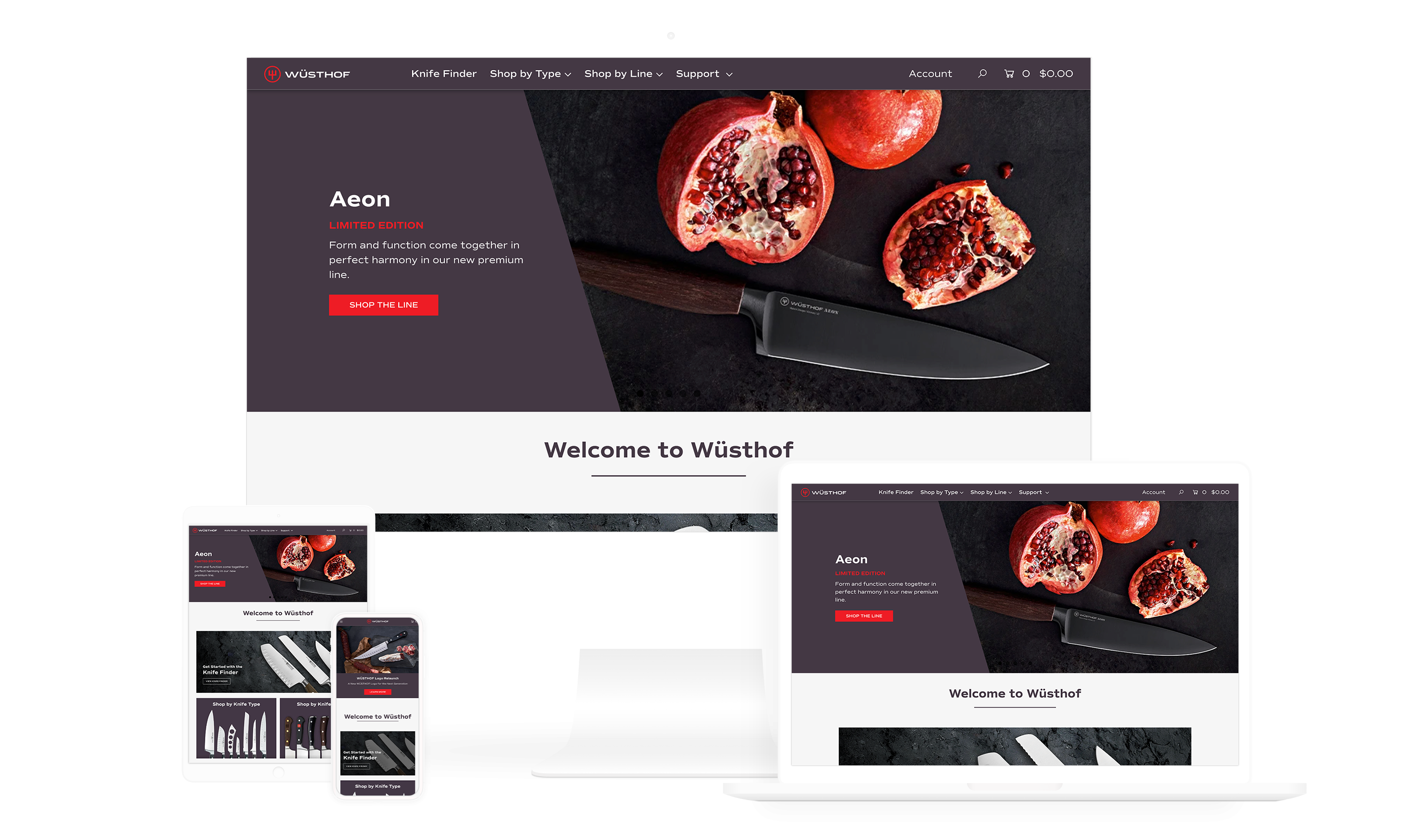 Vf website case Studies responsive wusthof 1